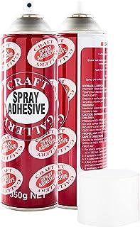 2PK Adhesive Craft Spray Acid Free Multi Purpose Art Craft Photos 350g