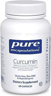 Pure Encapsulations - Curcumin - Hypoallergenic Curcumin C3 Complex - 60 Capsules