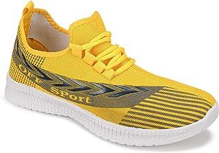 Camfoot Men's (9274) Yellow Casual Sports Running Shoes