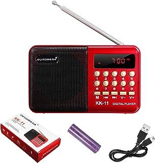 Mini Portable Pocket Speaker USB TF AUX MP3 Music Player Stereo Digital FM Radio