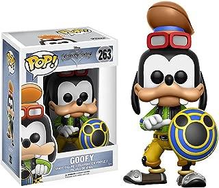 Goofy: Kingdom Hearts x Funko POP! Disney Vinyl Figure & 1 POP! Compatible PET Plastic Graphical Protector Bundle [#263 / 12364 - B]