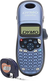 DYMO LetraTag LT-100H Handheld Label Maker for Office or Home (1749027), Colors May Vary,Silver