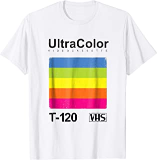 Vintage VHS Shirt - Retro, Grunge, and Distressed