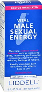 VITL Male Sexual Energy Liddell Homeopathic 1 oz Liquid