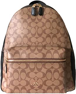 Coach Women's PVC Signature Charlie Backpack, Style F58314