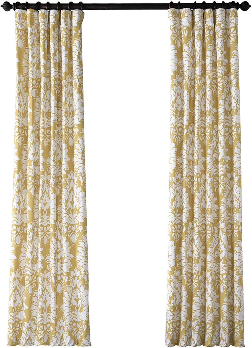 HPD Half Price Drapes PRTW-D46A-84 Twill Printed Cotton Curtain New Free Shipping Fashionable