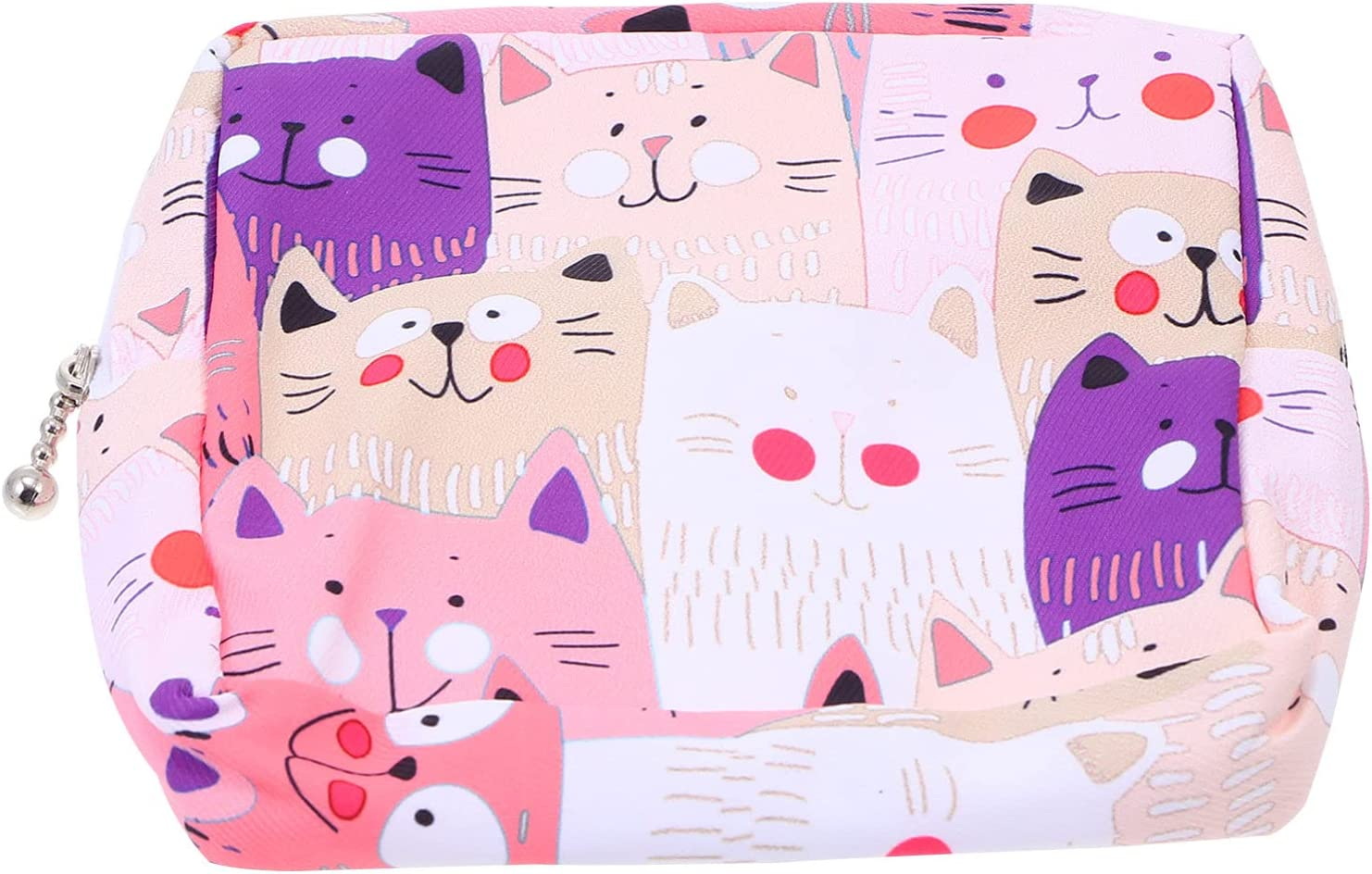 EXCEART 1pc Lovely Cheap mail order sales Cat Napkins Bag Tucson Mall Pad Sanitary N Holder Nursing