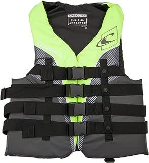 O'Neill Mens Superlite USCG Life Vest XXXL Lime/Graphite/Smoke/White (4723)