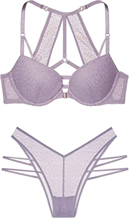 ef0fddfe22d Victoria s Secret Very Sexy Grape Escape Wildflower Lace with Back Detail  Front-Close Push-