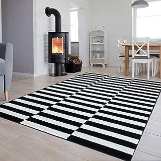 Suchergebnis Auf Amazon De Für Teppich Schwarz Weiß Gestreift