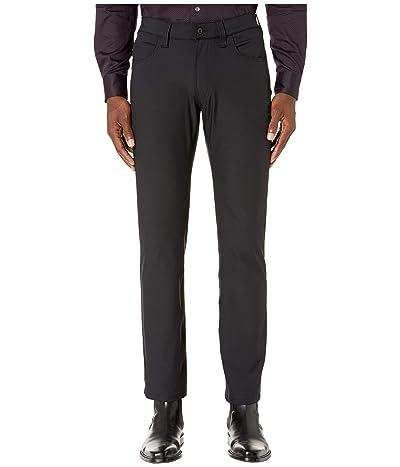 Emporio Armani Techno Stretch Five-Pocket in Black (Black) Men