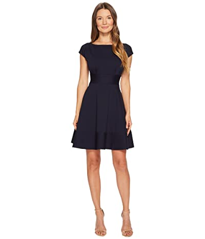 Kate Spade New York Ponte Fiorella Dress (Rich Navy) Women