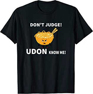 udon know me t shirt