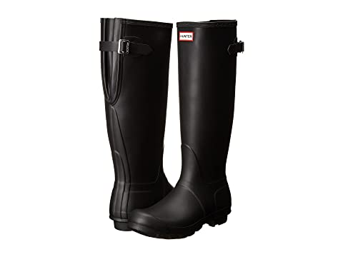 d08cc9452847 Hunter Original Back Adjustable Rain Boots at Zappos.com