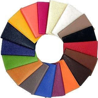 LIVAN L0957 - Portarrollos de papel para coche de piel (3 lentes, compacto, con tarjetero), color gris
