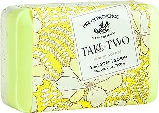Pre de Provence Take Two, Lemon Sorbet, 200 Gram