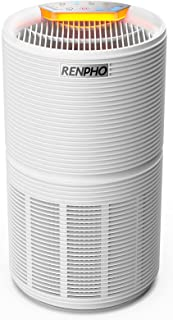RENPHO Air Purifier for Home with H13 True HEPA Filter, 5-Stage Filtration, Quiet Sleep Mode&Night Light, Removes 99.97% o...