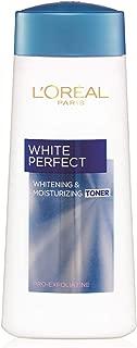 L'Oreal Paris Skin Care White Perfect Whitening And Moisturizing Toner 200 ml, Pack of 1