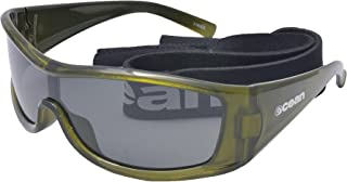 Ocean Sunglasses Puerto Rico - Gafas de Sol polarizadas - Montura : Verde Transparente - Lentes : Ahumadas (17400.5)