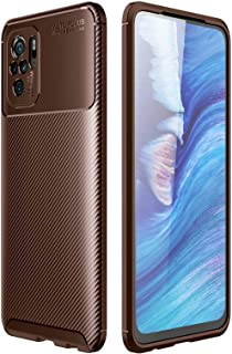 RanTuo Case for Motorola Moto G60, Anti-Scratch, Soft Silicone, Shockproof, Cover for Motorola Moto G60.(Brown)