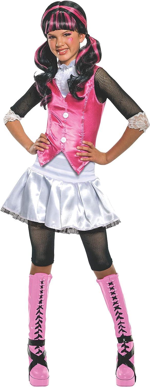 Monster High Kostueme Naehen.Rubie S 3 884787 M Draculaura Kind Kostum Grosse M Amazon De Spielzeug