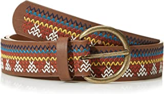 Best braided leather belt Reviews