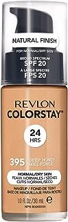 Revlon ColorStay Liquid Foundation For Normal/dry Skin, SPF 20, Deep Honey, 1 Fl Oz