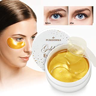 Gold Gel Eye Mask, Collagen Anti-Aging Under Eye Patches (30-pair)