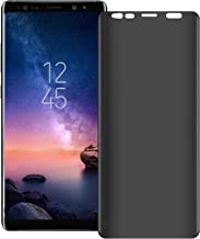 "Galaxy Note 8 Privacy Screen Protector [Upgrade Version] [3D Curve] Anti-spy Tempered Glass Screen Film 9H Hardness Anti-Scratch Anti-Peep Shield,for Samsung Galaxy Note 8 (6.3"") Transparent"