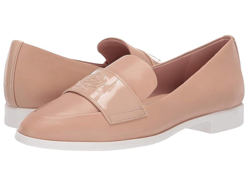 Taryn Rose Blossom (Buff Leather/Patent) Women