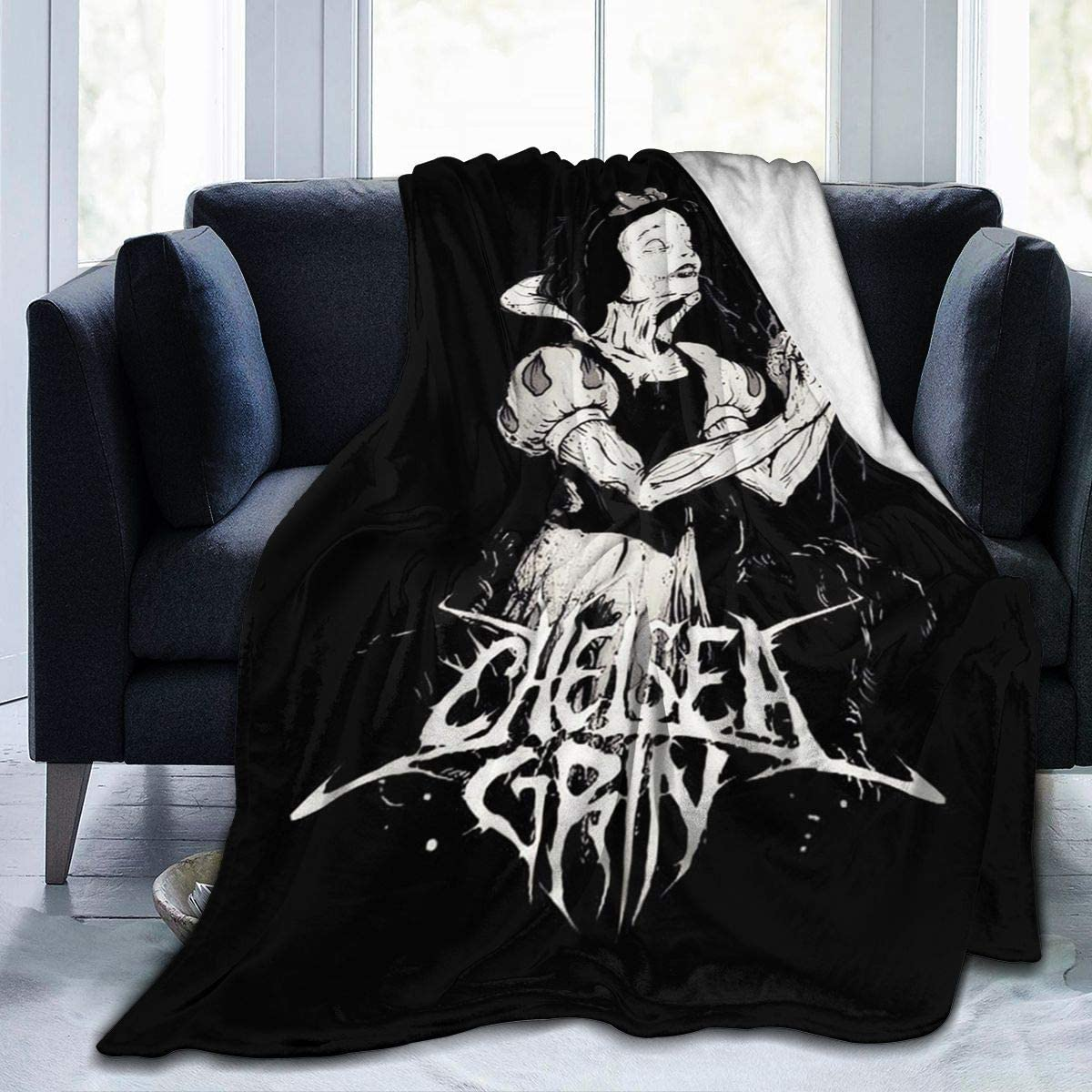 WushXiao Chelsea Grin Blanket Ultra-Soft Fleece Al price Micro 55% OFF