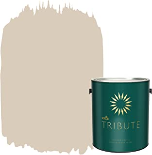 KILZ TRIBUTE Interior Matte Paint and Primer in One, 1 Gallon, Papyrus (TB-12)