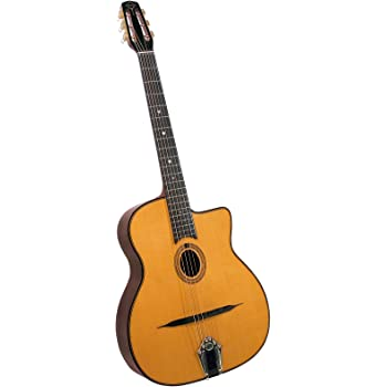 Gitane Gypsy Jazz Guitars DG-255 - Guitarra acústica con cuerdas ...