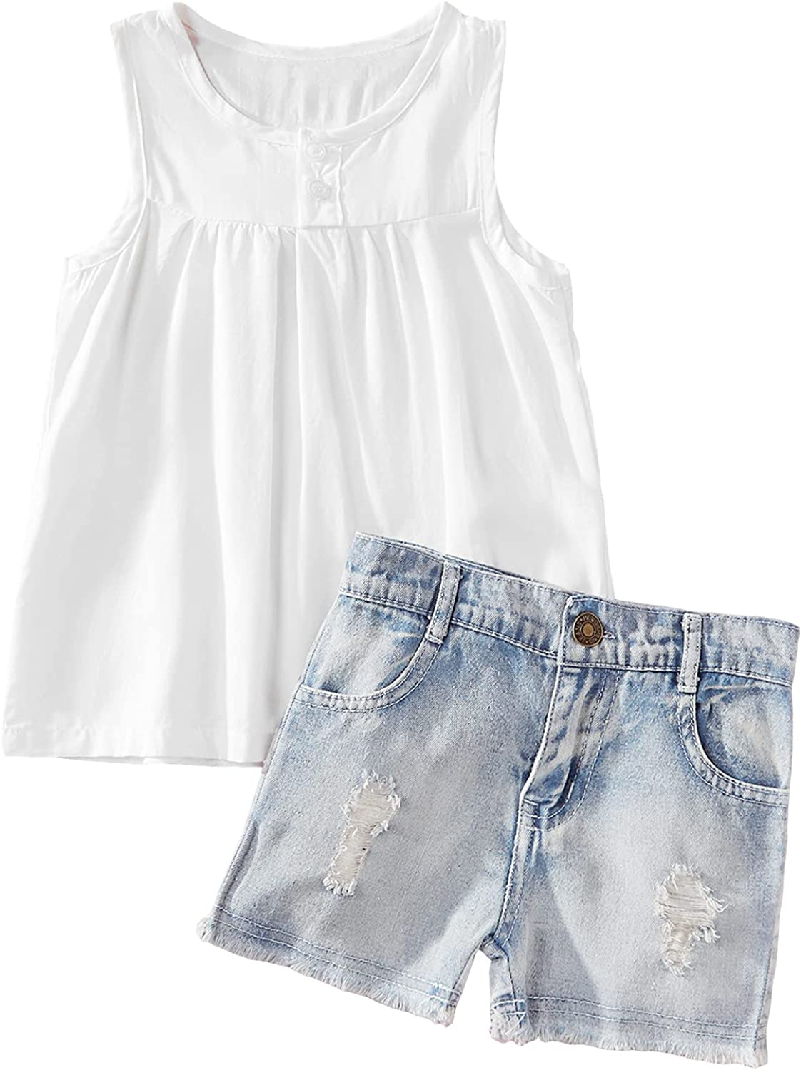 Toddler Baby Girls Clothes Summer Sleeve Kids Slee Mail order cheap Short Outfits New arrival