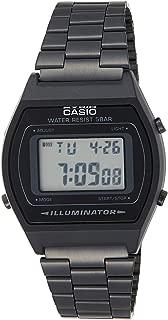 Casio Digital Black Dial Unisex's Watch-B640WB-1ADF (D180)