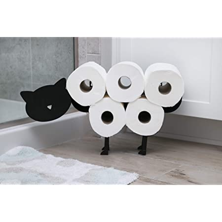 Bathroom Accessory Wall Mounted Toilet Tissue Face Paper Holder Rack Round