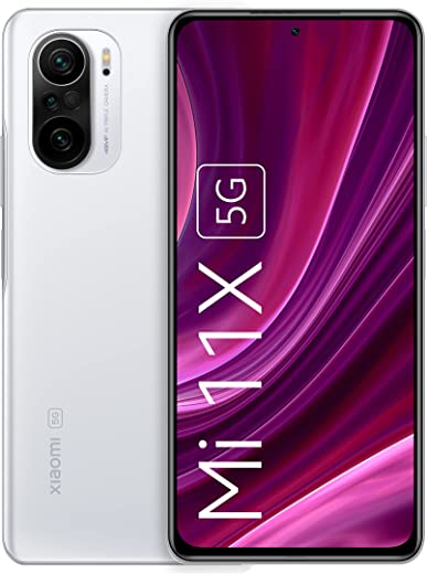 Mi 11X 5G (Lunar White 6GB RAM 128GB ROM | SD 870 | DisplayMate A+ rated E4 AMOLED | Upto 18 Months No Cost EMI | Additional 5000 Off on Exchange)