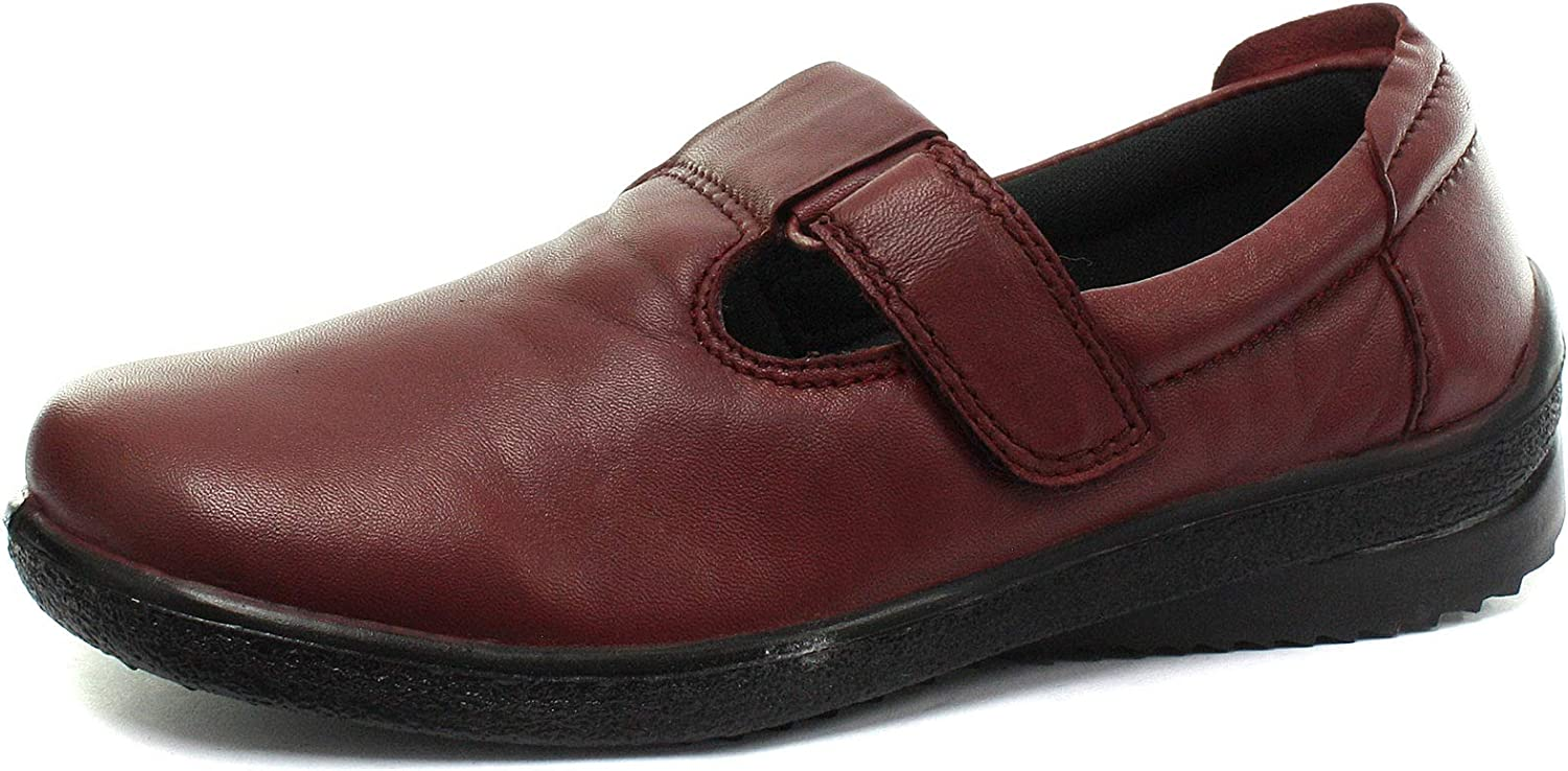 Mod Comfys Womens Touch Fastening T-Bar Leisure shoes