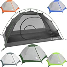 Best Hyke & Byke Yosemite 1 and 2 Person Backpacking Tents with Footprint - Lightweight Two Door Ultralight Dome Camping Tent Review