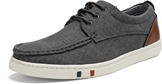 Bruno Marc Men's Fashion Sneakers Canvas Casual Lace-Up Shoes