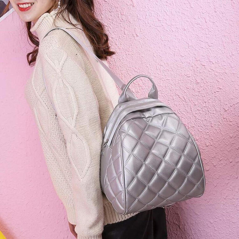 Backpack Female Versatile Fashion Small Backpack Dualuse Female Bag Simple Casual Bag