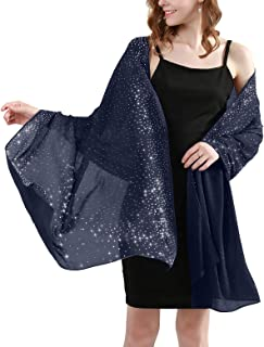 Banetteta Evening Sparkling Shawls and Wraps for Dresses