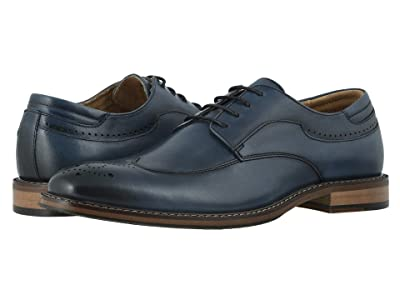 Stacy Adams Fletcher Wing Tip Oxford (Indigo) Men