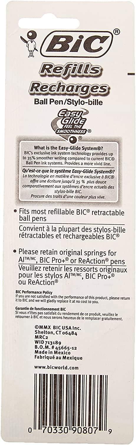 Standard Refills MRC21-Blk Medium Point 1.0mm fits Wide Body Velocity Reaction and AI 2ct New Version XXL Pro+ Black