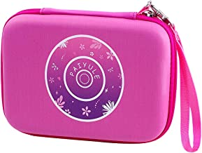 PAIYULE Case Compatible for VTech Kidizoom Duo Selfie/ Duo DX Digital Selfie/ Twist Connect/ Spin and Smile/ Pix Camera with Strap - Pink (Bag only)