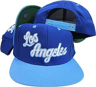 326660b9911e2 adidas Los Angeles Lakers Blue Baby Blue Adjustable Vintage Snapback Cap