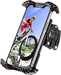 ANEMAT Bike Phone Mount Holder - Motorcycle Phone Mount, Mountain Bike Accessories for Adult...