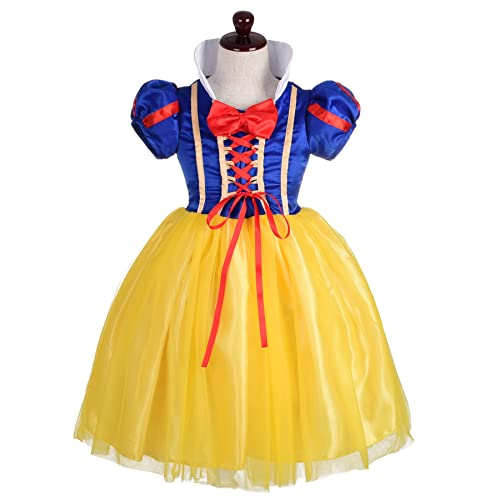 09cf407badd Dressy Daisy Girls  Princess Snow White Costume Fancy Dresses Up Halloween  Party