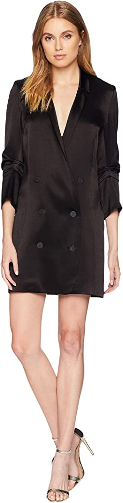 Bracelet Sleeve Double Breasted Shirtdress
