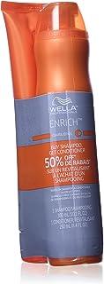 Wella Enrich Moisturizing Duo Shampoo Kit for Unisex